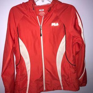 FILA Unused Coral Rain Jacket